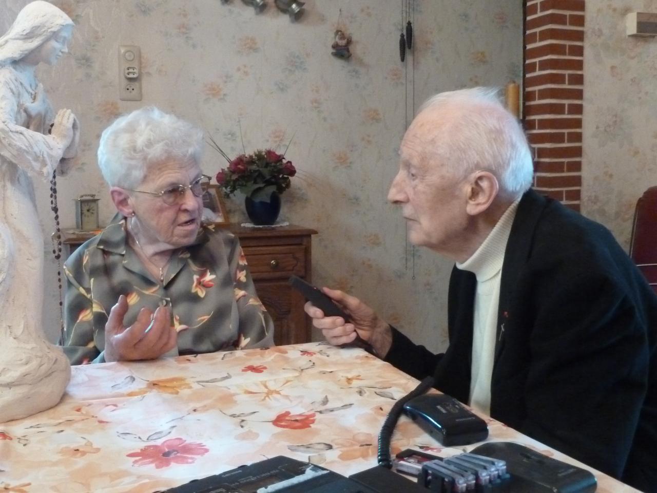 Marguerite et l'abbé Laurentin