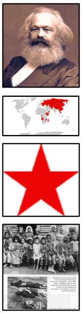 Illustrations communisme colonne bon